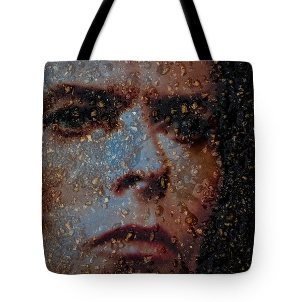 Tote Bag featuring the photograph David by Randy Sylvia