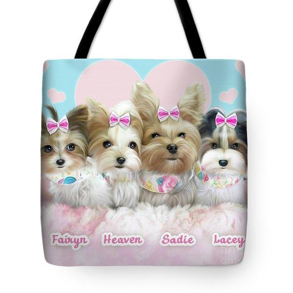 Davidson's Furbabies Tote Bag