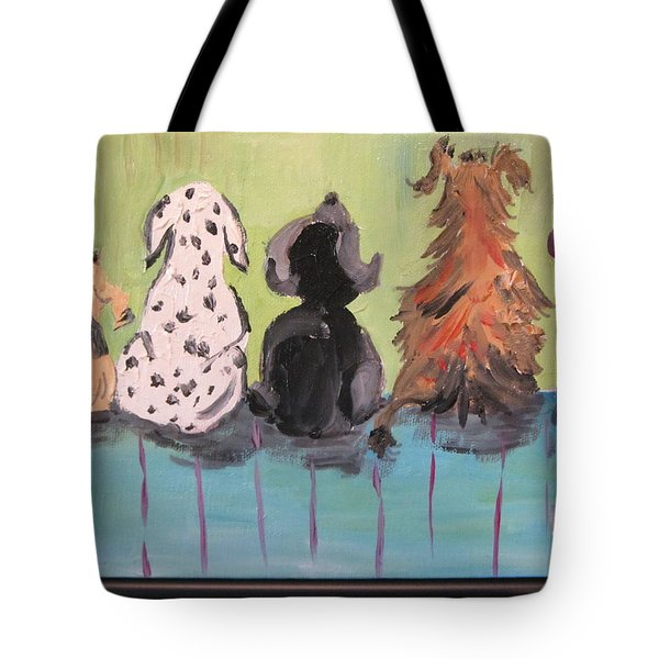 Dawg Outhouse Tote Bag