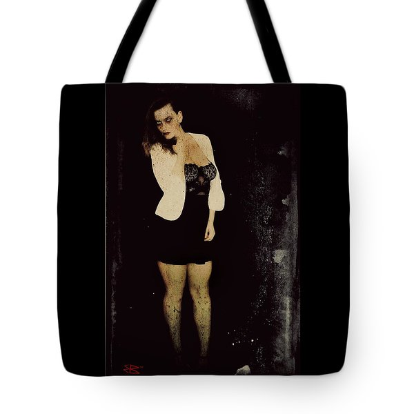 Tote Bag featuring the digital art Dawn 1 by Mark Baranowski