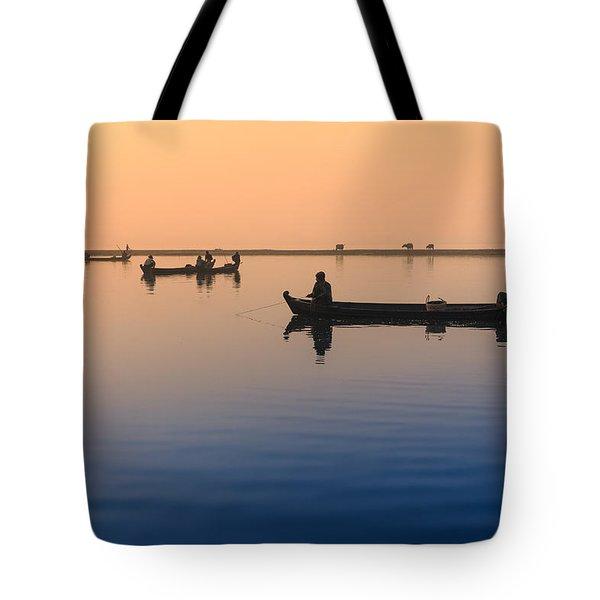 Dawn, Amarapura Tote Bag