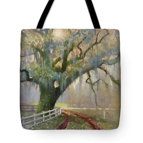 Dawn At Edisto Tote Bag by Blue Sky