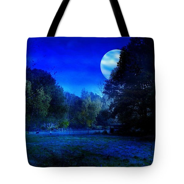 Dawn At Night Tote Bag