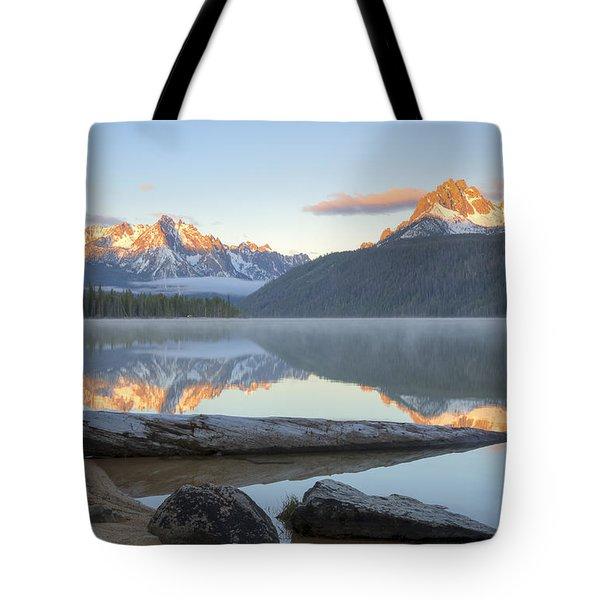 Dawn At Redfish Tote Bag