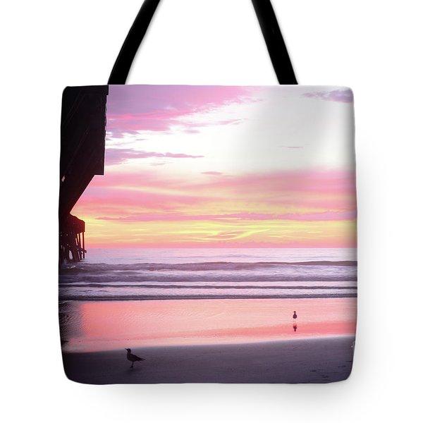 Dawn At The Beach 8-14-16 Tote Bag