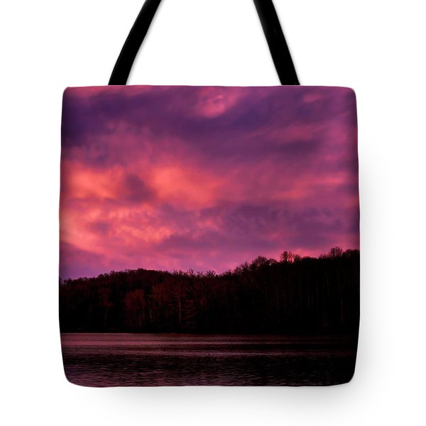 Tote Bag featuring the photograph Dawn At The Dock by Thomas R Fletcher
