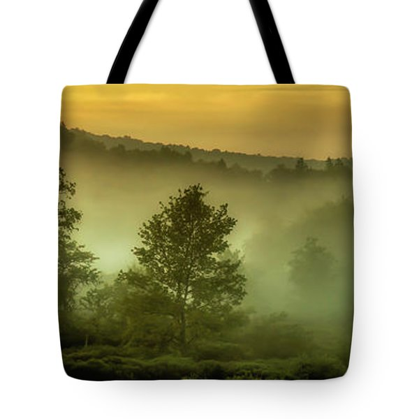 Tote Bag featuring the photograph Dawn At Wildlife Management Area by Thomas R Fletcher