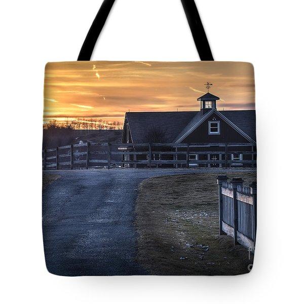 Dawn Breaking Tote Bag