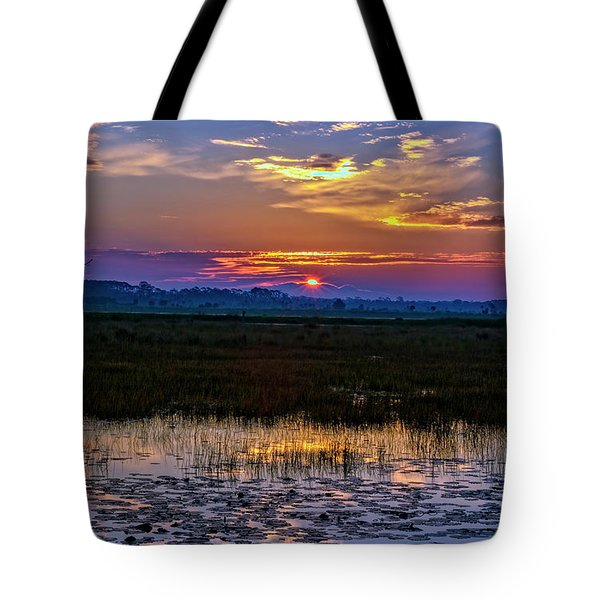 Dawn Breaking Over Saint Marks Tote Bag