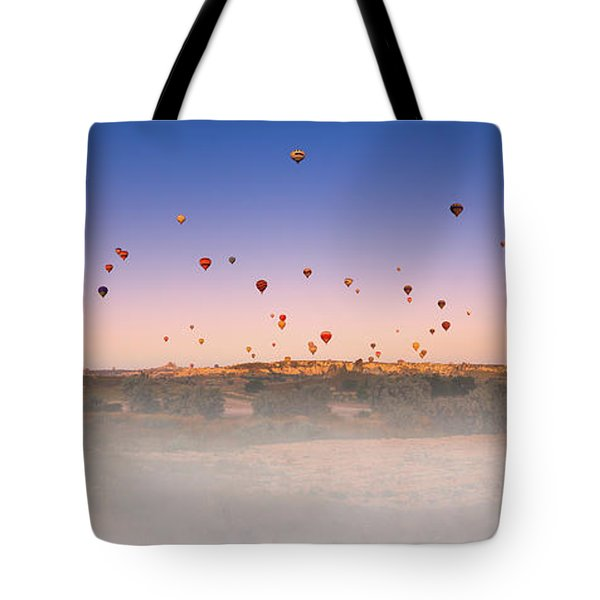 Dawn, Cappadocia Tote Bag by Marji Lang