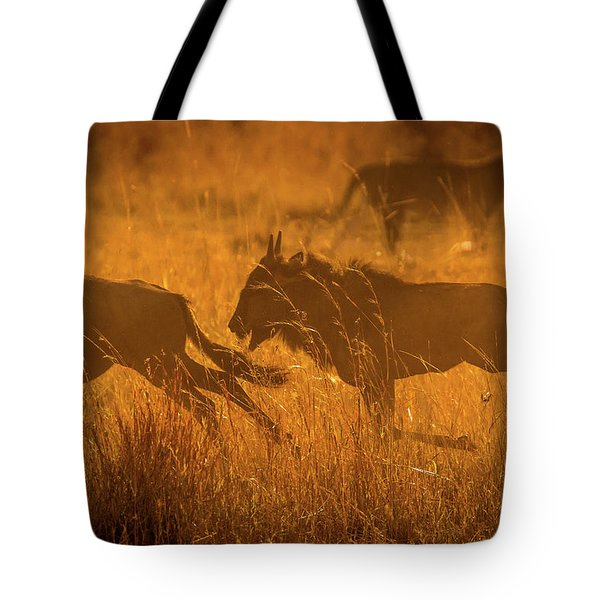 Dawn Chase Tote Bag