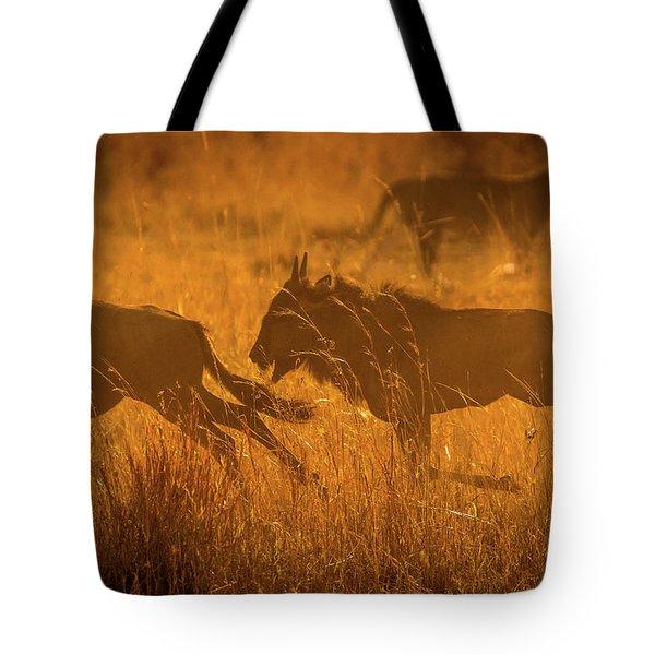 Dawn Chase Tote Bag