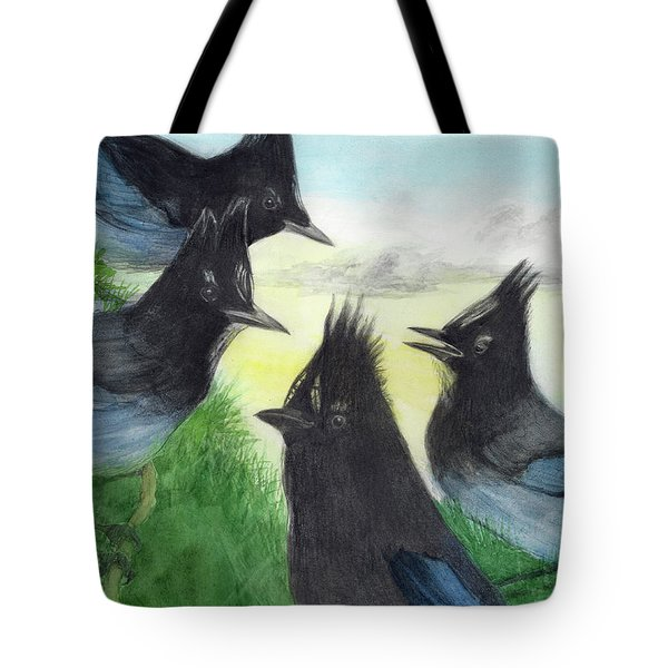 Dawn Chorus Tote Bag