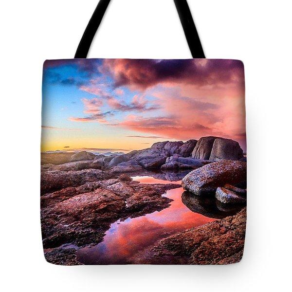 Dawn Colours Tote Bag