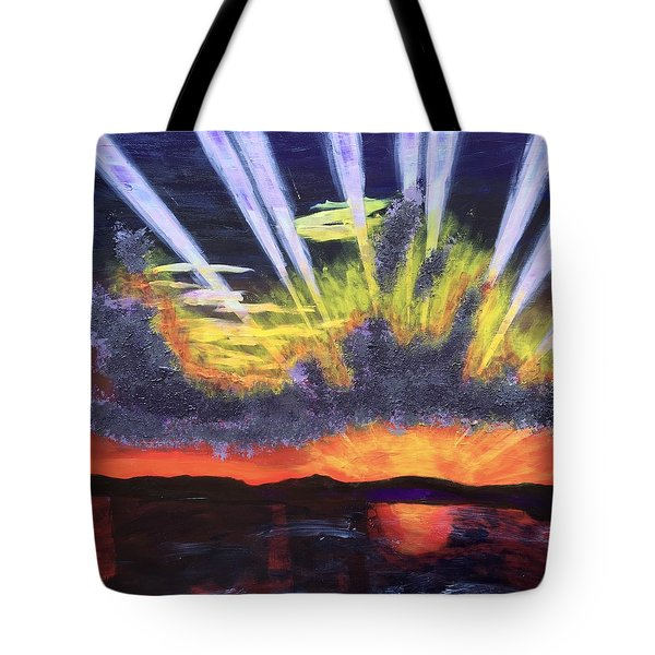 Dawn Tote Bag by Donald J Ryker III
