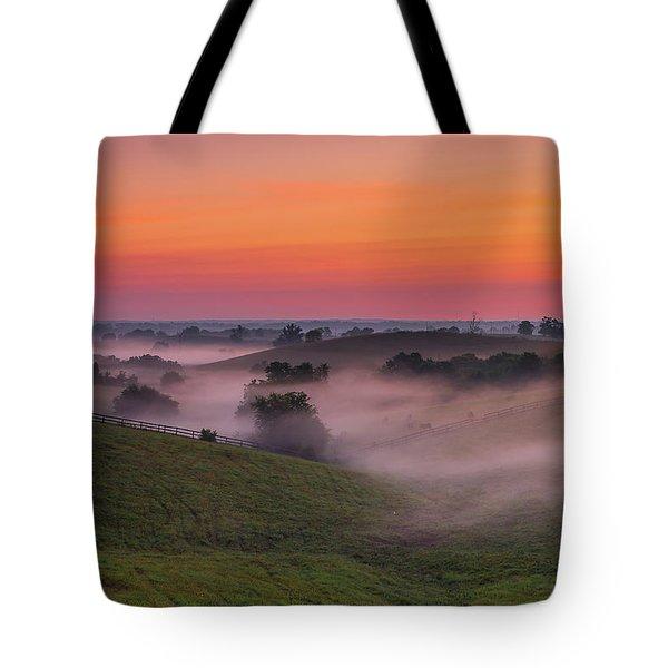 Dawn In Kentucky Tote Bag