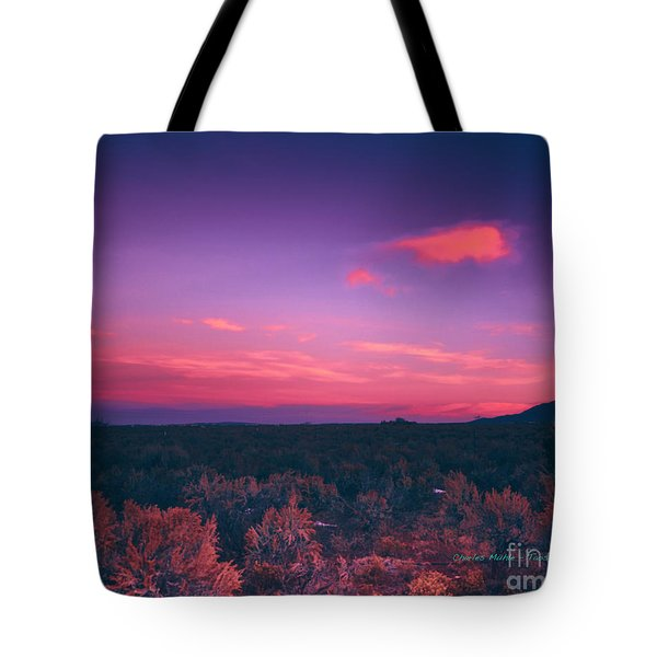 Dawn In Taos Tote Bag