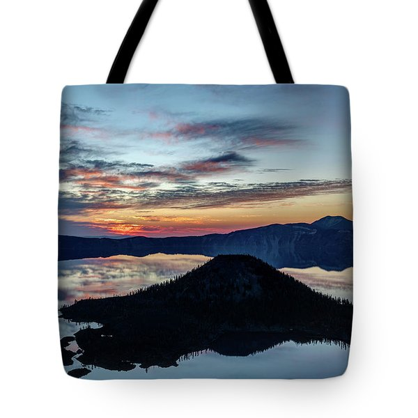 Dawn Inside The Crater Tote Bag