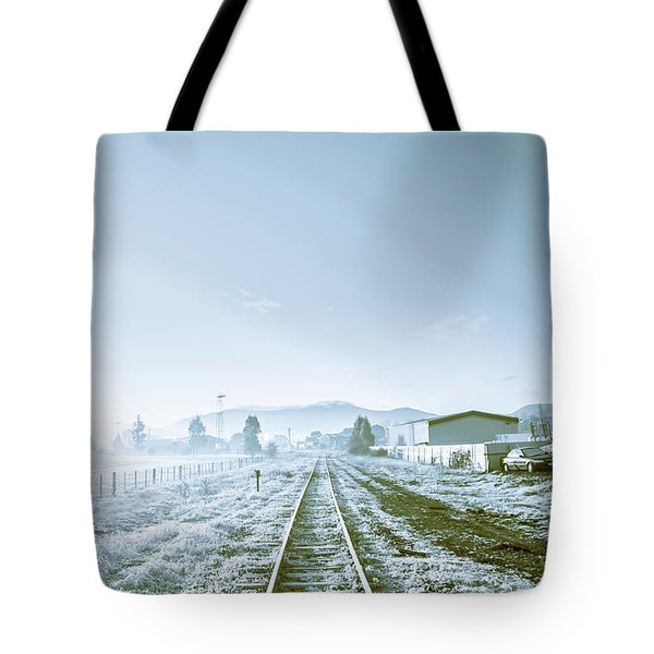 Dawn Line Tote Bag