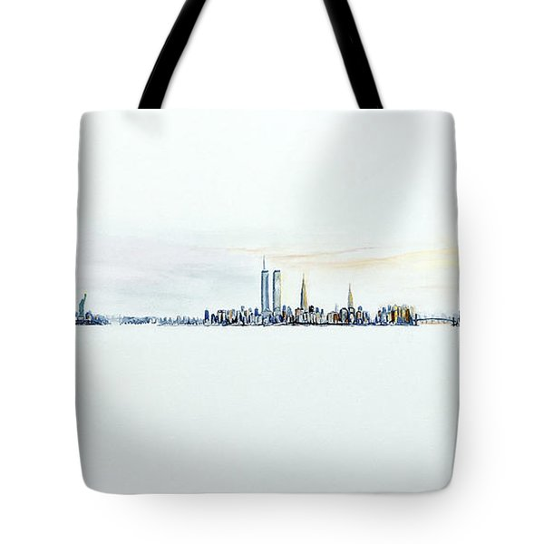Dawn New York City Tote Bag