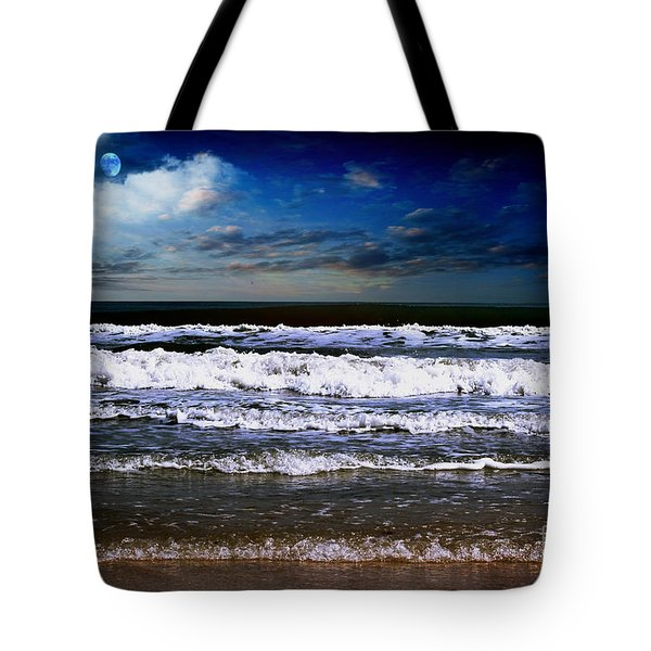 Dawn Of A New Day Seascape C2 Tote Bag