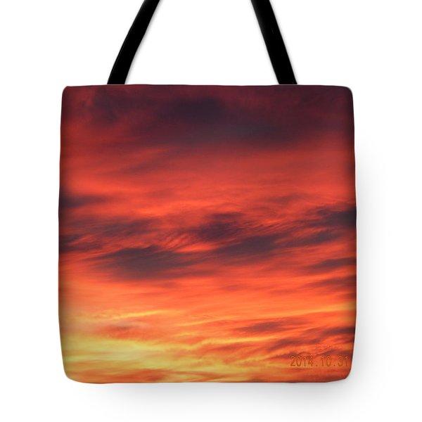 Dawn Of Color Tote Bag
