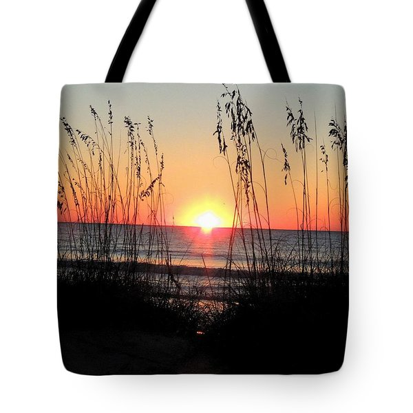 Dawn Of The Eclipse Tote Bag