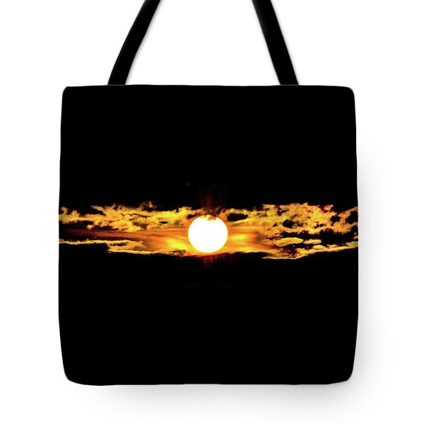Tote Bag featuring the photograph Dawn Of The Golden Age by Az Jackson