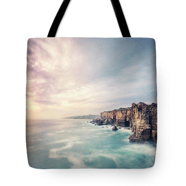 Dawn Of The Night Tote Bag