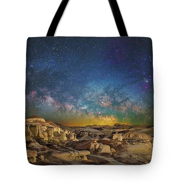 Dawn Of The Universe Tote Bag