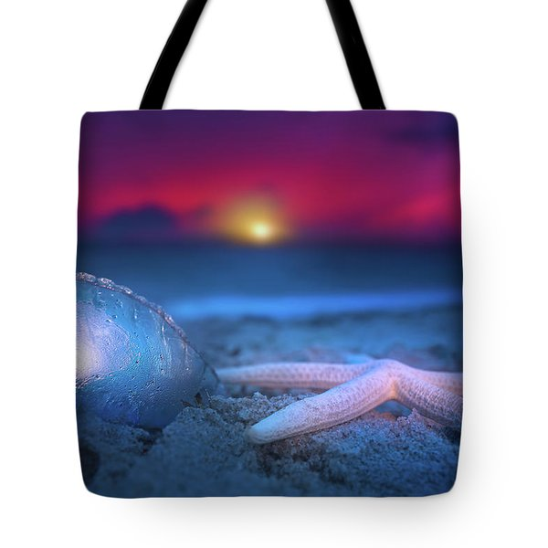 Tote Bag featuring the photograph Dawn Of The Warriors by Mark Andrew Thomas