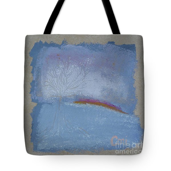 Dawn Of Winter Tote Bag