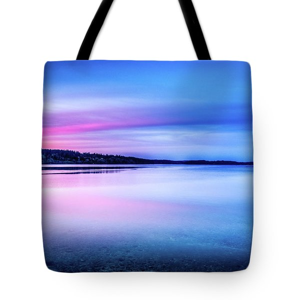 Dawn On Bainbridge Island Tote Bag