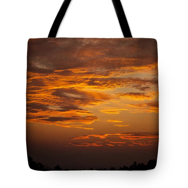 Dawn On Gaither Mountain At Ponca Wilderness Tote Bag