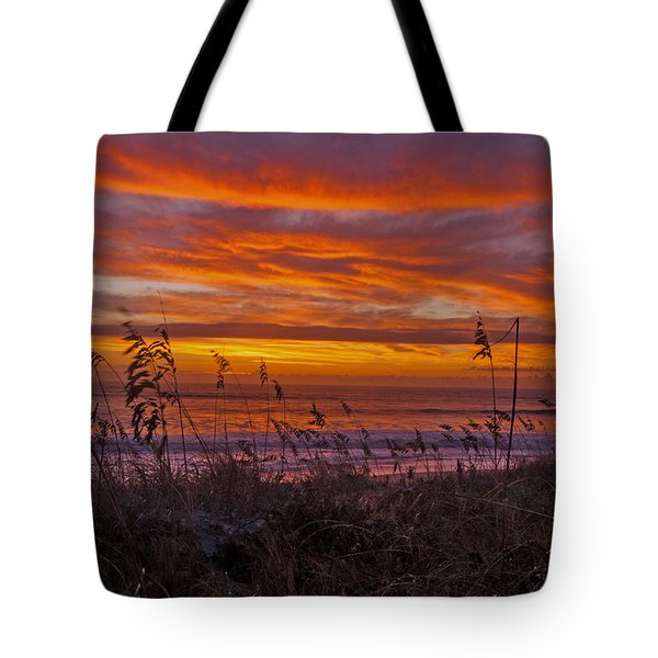 Dawn On The Dunes Tote Bag