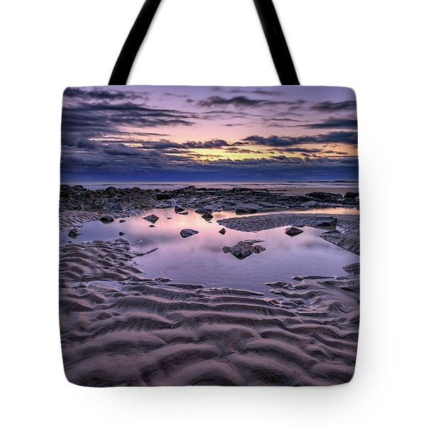 Tote Bag featuring the photograph Dawn On Wells Beach by Rick Berk