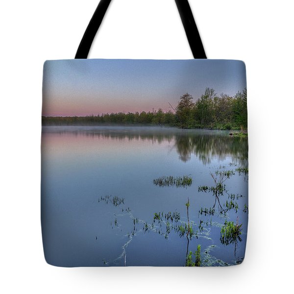 Dawn Over North Bay Tote Bag