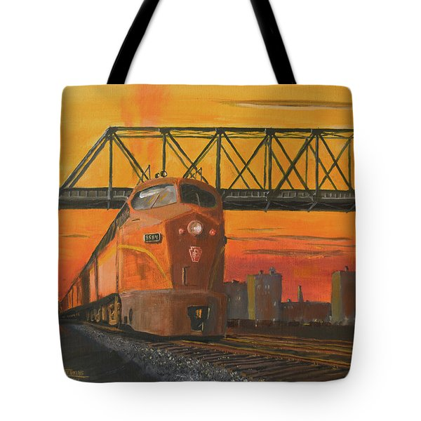 Dawn Patrol Tote Bag by Christopher Jenkins