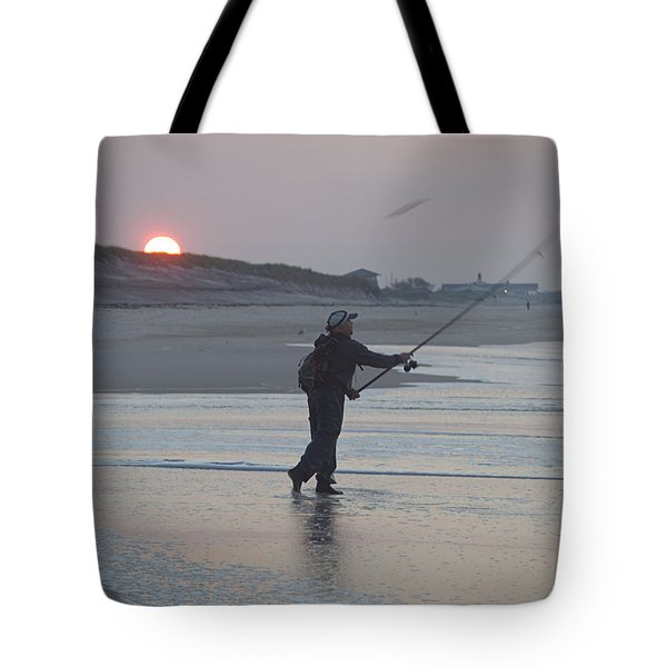 Tote Bag featuring the photograph Dawn Patrol by Newwwman