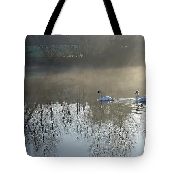 Dawn Patrol Tote Bag by Rod Johnson