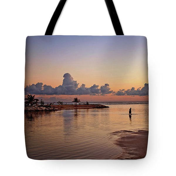 Dawn Reflection Tote Bag