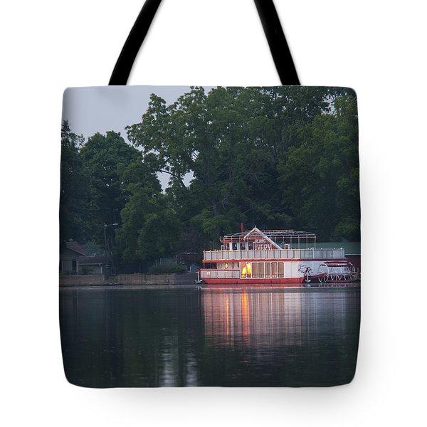 Dawn-st. Joseph River Tote Bag