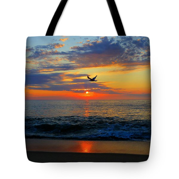 Dawning Flight Tote Bag by Dianne Cowen