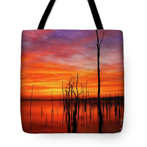 Dawns Approach Tote Bag