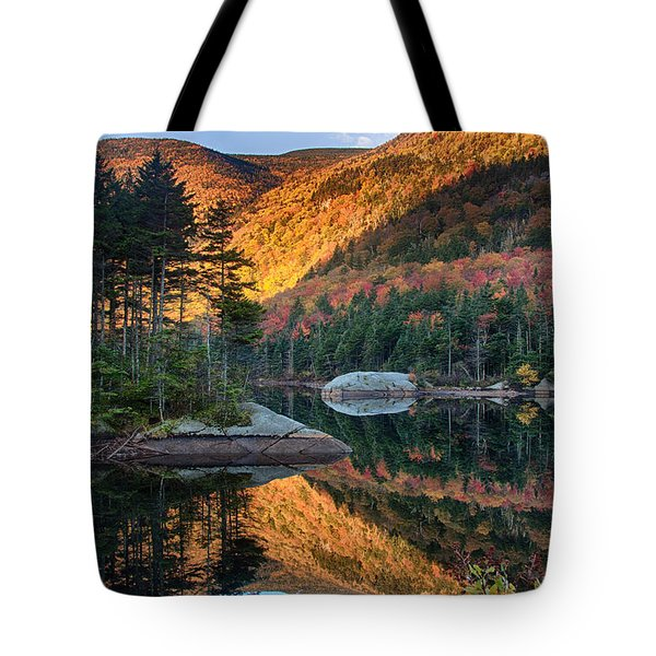 Dawns New Hampshire  Reflection Tote Bag