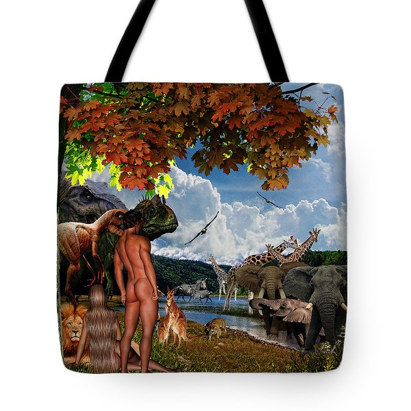 Day 6 Tote Bag by Lourry Legarde