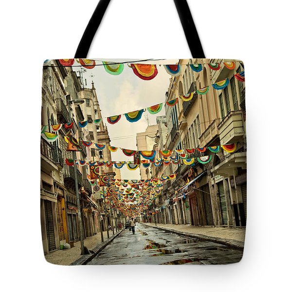 Tote Bag featuring the photograph Day After by Kim Wilson