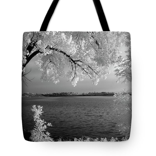 Day At The Lake Tote Bag