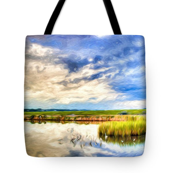 Day At The Marsh Tote Bag
