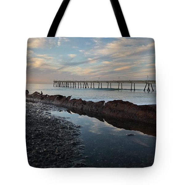 Day At The Pier Tote Bag